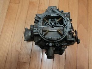 4gc 4bbl 1966 Chevrolet Rochester 4 Jet Carburetor 4 Barrel Carburetor