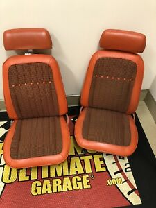 1969 Camaro Indy Pace Car Seats Freshly Reconditioned