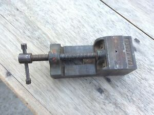 Vintage Palmgren Drill Press Vise 2 5 Wide Jaw 2 5 jaw Opening