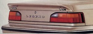 1986 1990 Acura Legend Coupe Optional Rear Lip Spoiler Ka1 Ka2 Ka3 Oem Rare
