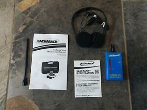 Bacharach 28 8000 Ultrasonic Leak Detector folding Headset Full Kit