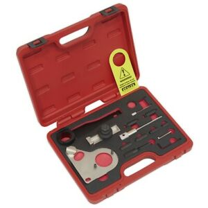 Sealey Vse5086a Diesel Engine Timing Tool Kit For Nissan Renault Merc Chain Dr