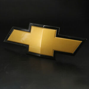 For 07 13 Chevrolet Silverado 1500 Gold Front Grill Bowtie Emblem New