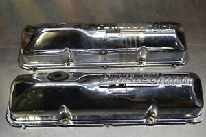 Ford Fe Big Block 390 428 Power By Ford Valve Covers Fairlane Mustang 352 427