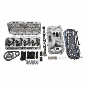 Edelbrock 2079 Top End Engine Kit Power Package Intake Heads Cam Timing Cha