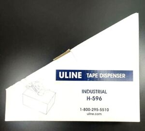 Uline H 596 3 Side Load Packing Tape Dispenser Gun Free Shipping New