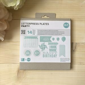 We R Memory Keepers Party Invite Letterpress Plates Nib Card Invitation Making