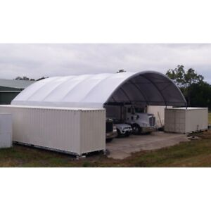 40 x40 x11 Shelter Cover Roof Building Conex Overseas Box Shipping Container