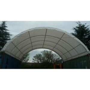 Shipping Cargo Container Conex Fabric Building Canvas Shelter New 20 x40 x6 6