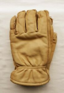 Wells Lamont Grips Work Gloves Leather Medium Previously Owned