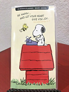 Peanuts Snoopy 28 month Christian Personal Pocket Planner 2021 2022 new cute