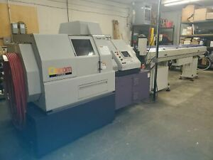 Citizen Cincom L32 Swiss Lathe 1999 Iemca 542 Boss Bar Feeder Tooling Includ