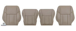 For 1999 2000 Toyota 4runner Driver Passenger Complete Leather Seat Covers Tan