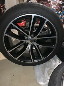 Dodge Charger Challenger Scat Pack Oem Wheel And Tire Package