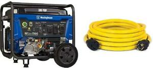 Westinghouse Wgen7500 Portable Generator With Remote Electric Start 7500 Rated