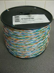 General Cable Cross Connect Telephone Wire 24awg 2 5pr 2 Pair 1 1000ft New
