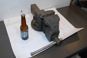 Morgan Milwaukee 45a 145 Large Industrial 4 5 bench Vise Inv 29869