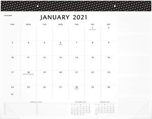 2021 Desk Calendar By At a glance Monthly Desk Pad 21 3 4 X 17 Standard