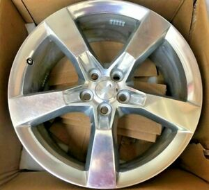 Set Of 4 Chevrolet Camaro Ss Polished 20x8 Alloy Wheel Rim For 2010 2015 Used