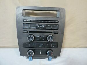 11 14 Ford Mustang Radio Aux Ac Climate Control Panel Dash Oem Cr3t 18a802 Ja