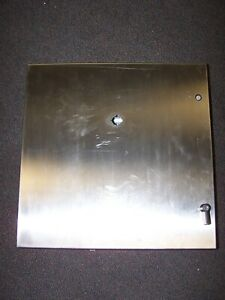 New Hoffman Stainless Steel Enclosure 24 X 24 X 8 W Backplate Csd24248ss
