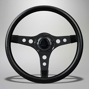 1969 1977 Vw Beetle Or Super Beetle Black Spoke Sport Gt Steering Wheel 319686