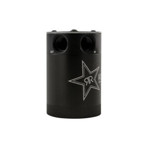 Mishimoto Mmbcc cbtwo rkst Rockstar Compact Baffled Oil Catch Can 2 port Black