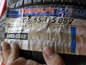 Falken Ziex Ze912 205 55r15 88v 2892 2562 New Old Stock