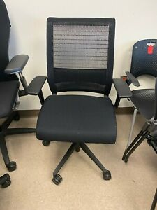 Steelcase Think Office Task Chair Fully Loaded Adjustable Arms Lumbar Support