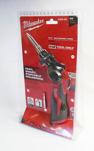 Milwaukee 2488 20 M12 12 volt Lith ion Cordless Soldering Iron tool only New