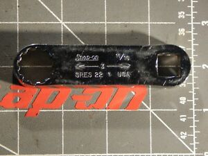 Snap On Tools 1 2 Drive Spline Torque Adapter Wrench 11 16 Sres22 12pt Dr