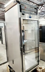 New Randell Glass Door Reach In Pass Thru Refrigerator Cooler 2000 Series 2011p