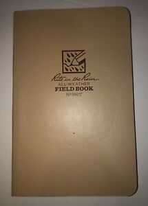 Rite In The Rain All Weather Tactical No 980t Notebook Field Book