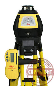 Leica Rugby 50 Self Leveling Rotary Laser Level Trimble Spectra Topcon