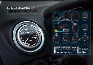 Boost Gauge Turbo Need No Cut And With Exclusive Pod For Audi Tt 8n 60mm