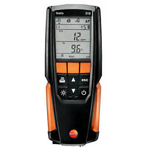 Testo 310 Combustion Analyzer For Residential Applications