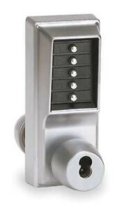 Kaba 1000 Series Pushbutton Lock With Knob Key Override 1021b26d41 New Sealed