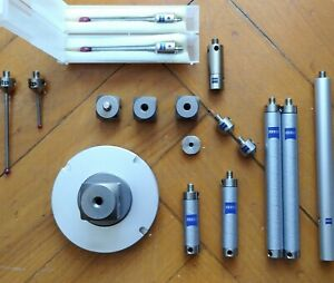 Zeiss Cmm Accessories Lot Package styli Extensions Adapter Plate Ect