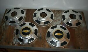 Chevy 12 Dog Dish 4x4 Hubcaps 3 4 Ton K20 1977 1987 Square Body 4wd