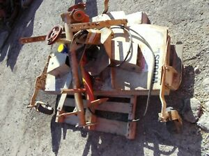 Allis Chalmers C Ac Tractor Woods L59 Belly Mower W Brackets Lift Cylinder
