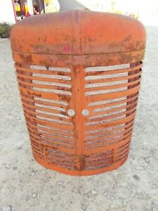 Farmall M Mv Tractor Original Nose Cone Grill W Bottom Insert
