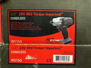 Ingersoll Rand W5150 1 2 Inch Mid Torque Impactool Tool Only Ueee
