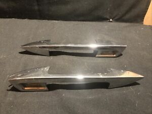 Nos 1959 Ford Thunderbird Left And Right Door Handle Bap6322404 405 1958 60 Oem