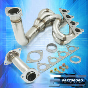 For 88 00 Civic Crx Delsol D Series Sohc Jdm Performance Exhaust Header Manifold