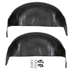 Black Liners For 2017 2020 Ford F250 F350 Rear Wheel Well Liners Inner Guards