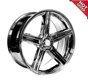 4ea 22 Iroc Wheels Chrome 5 Lugs Rims S44