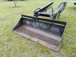 Koyker Front End Loader With Bucket Mounting Supports Brackets