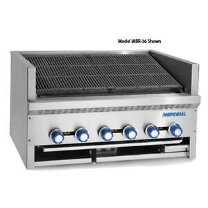Imperial Iabr 24 24 In Radiant Countertop Steakhouse Broiler