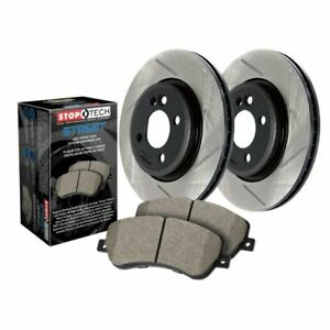 Stoptech Street Axle Pack Brake Kit Drilled Slotted Front 938 33089