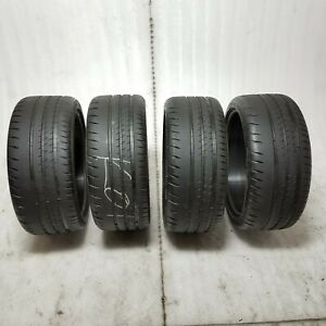 Michelin Pilot Sport Cup 2 235 35 Zr 19 91y Xl Tire Set W 7 32 Tread Depth